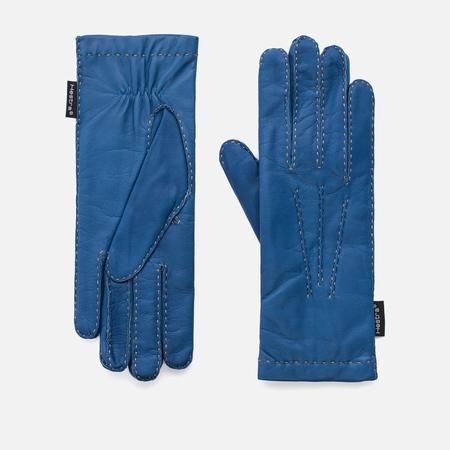 Женские перчатки Hestra Hairsheep 2 Bt Handsewn Wool Blue