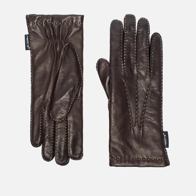 Женские перчатки Hestra Hairsheep 2 Bt Handsewn Wool Espresso