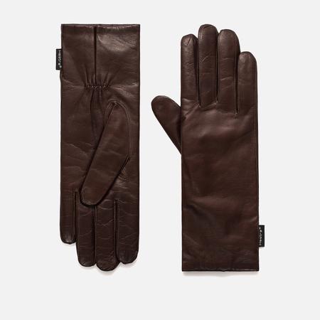 Женские перчатки Hestra Hairsheep Elongated Dark Brown
