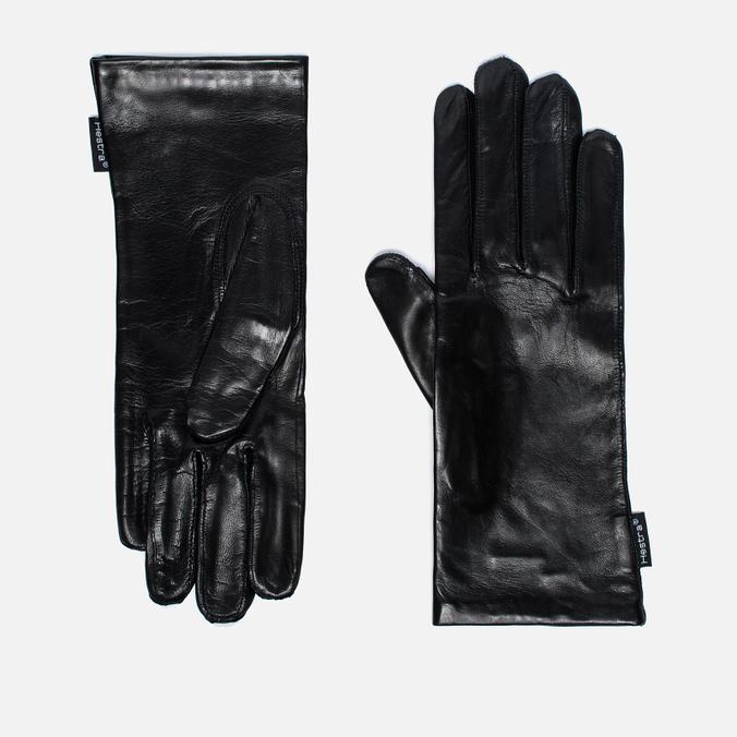 Женские перчатки Hestra Hairsheep Pique Silk Black
