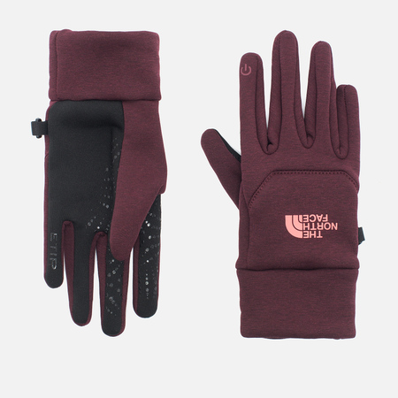 The North Face Etip Hardface Women's Gloves Deep Garnet Red