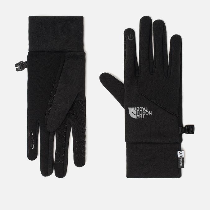 Женские перчатки The North Face Etip TNF Black/Asphalt