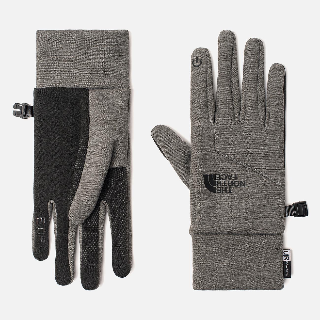 Женские перчатки The North Face Etip TNF Medium Grey Heather