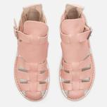 Женские сандалии Fracap D033 Gladiator Nebraska Pink/Cristy White фото- 4