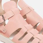 Женские сандалии Fracap D033 Gladiator Nebraska Pink/Cristy White фото- 5