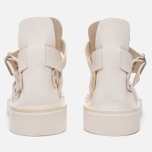 Женские сандалии Fracap D033 Gladiator Nebraska White/Cristy White фото- 3
