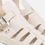 Женские сандалии Fracap D033 Gladiator Nebraska White/Cristy White фото- 5