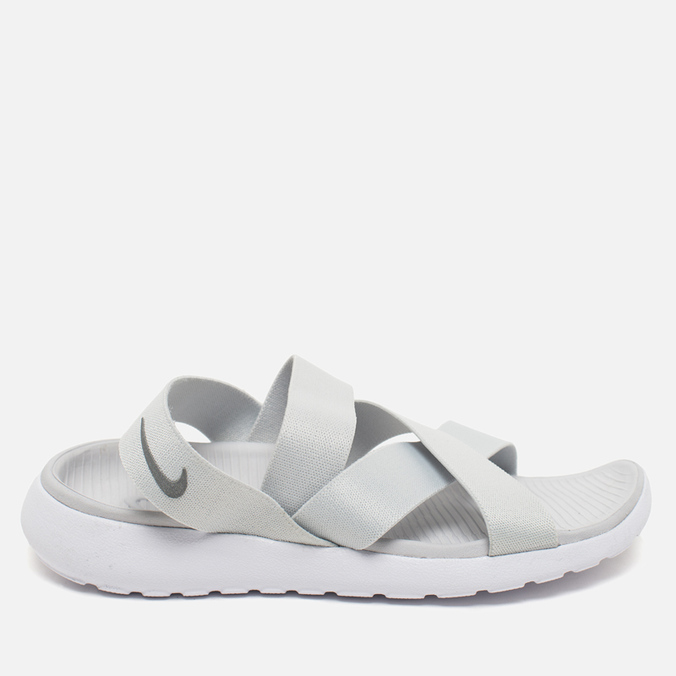 Женские сандалии Nike Roshe One Sandal Pure Platinum/White/Wolf Grey