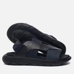 Женские сандалии Y-3 Qasa Elle Stretch Black Iris/Core Black фото- 1