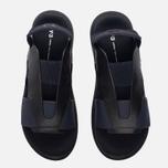 Женские сандалии Y-3 Qasa Elle Stretch Black Iris/Core Black фото- 4