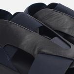 Женские сандалии Y-3 Qasa Elle Stretch Black Iris/Core Black фото- 5