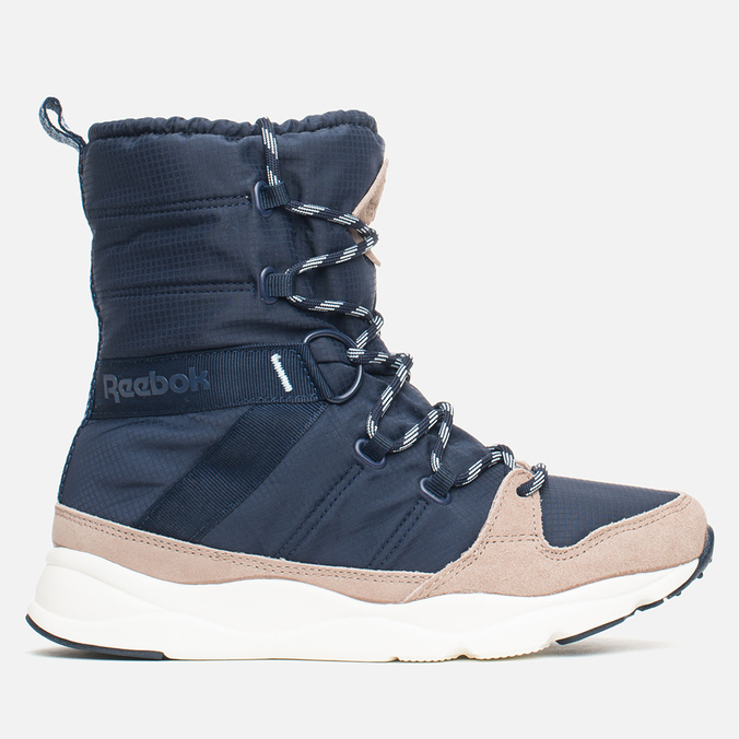 Reebok Russia Boot Women's Winter Shoes Indigo/Taupe/Navy/Chalk