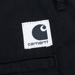 Женские шорты Carhartt WIP W' Vesper Lycra Stretch Twill 6 Oz Black Rinsed фото- 4