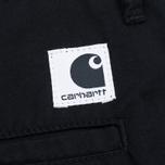 Carhartt WIP W' Vesper Lycra  Stretch Twill 6 Oz Women's Shorts Black Rinsed photo- 4