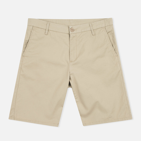 Женские шорты Carhartt WIP W' Vesper Lycra Stretch Twill 6 Oz Safari Rinsed