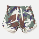 Maharishi Camo Silk Women's Shorts Papal Woodland photo- 0