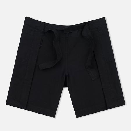 Женские шорты maharishi Hakama Garment Dyed Black