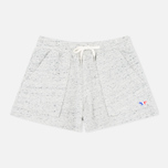 Maison Kitsune Cotton Fleece Women's Shorts Grey Melange photo- 0