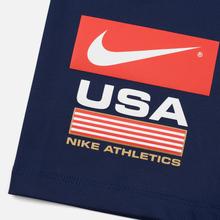 Женские шорты Nike NRG Bike Swoosh Stripe Midnight Navy/University Red/Black фото- 1