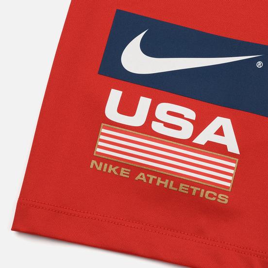 Женские шорты Nike NRG Bike Swoosh Stripe University Red/Black