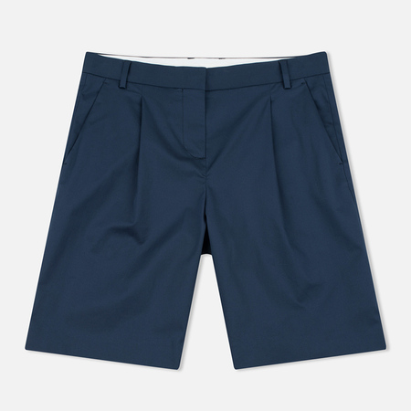 Norse Projects Erika Cotton Stretch Women's Shorts Dark Navy