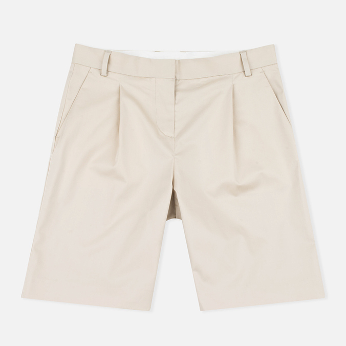 Norse Projects Erika Cotton Stretch Women's Shorts Khaki