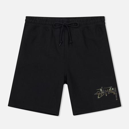 Женские шорты Stussy Camo Stock Black