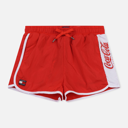 Женские шорты Tommy Jeans x Coca-Cola Logo Contrast Red