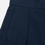 YMC Linen Women's Shorts Full Navy photo- 2