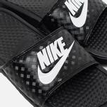 Женские сланцы Nike Benassi JDI Black/White фото- 5