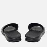 Женские сланцы Nike Benassi JDI Black/White фото- 3