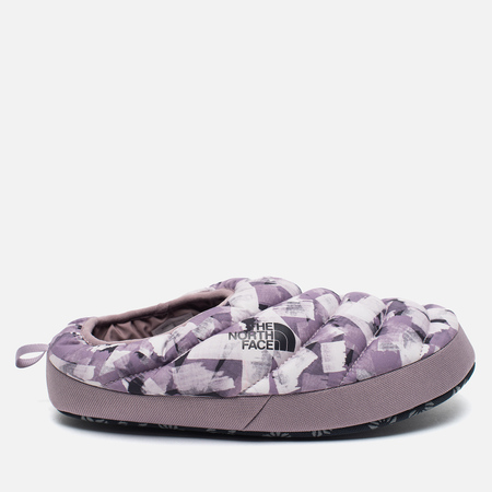 Женские тапочки The North Face Nuptse Tent Mules III Grey/Violaceous