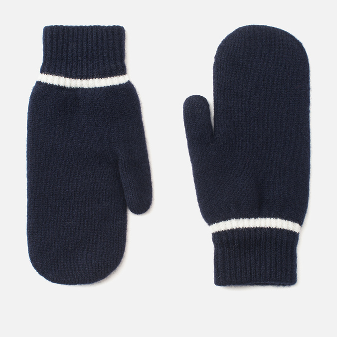Женские варежки Norse Projects Ebba Knit Navy