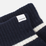 Женские варежки Norse Projects Ebba Knit Navy фото- 1