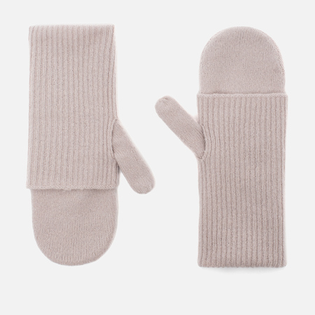 Norse Projects Elise Felt Women's Mittens Dusty Lilac