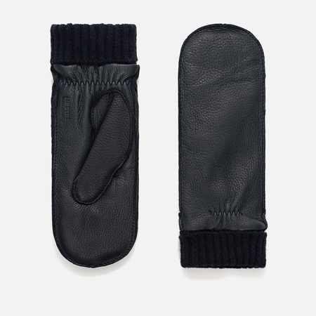 Женские варежки Norse Projects x Hestra Elba Mitten Dark Navy