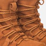 Женские зимние ботинки Nike Roshe One Hi Suede Tawny Lotus фото- 5