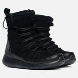Женские зимние ботинки Nike Roshe One Hi Suede Black Anthracite фото- 1