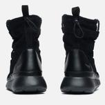 Женские зимние ботинки Nike Roshe One Hi Suede Black Anthracite фото- 3