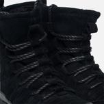 Женские зимние ботинки Nike Roshe One Hi Suede Black Anthracite фото- 4