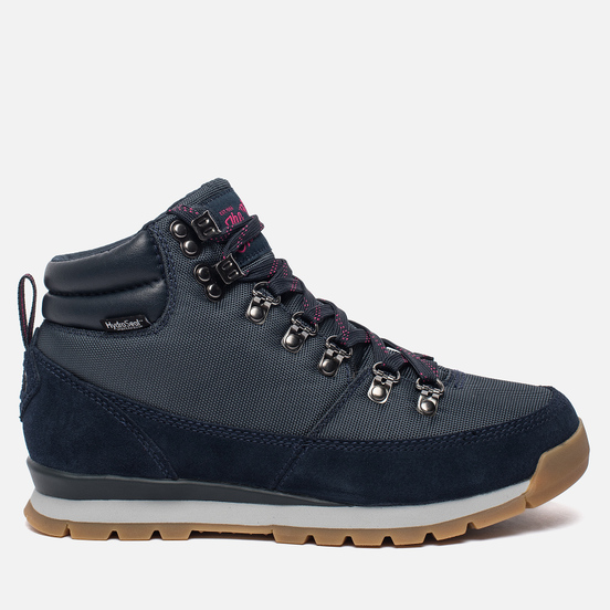 Женские зимние ботинки The North Face Back To Berkeley Redux Urban Navy/Cabaret Pink