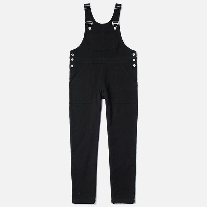 Женский комбинезон YMC Cotton Weave Dungarees Black
