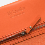 Женский кошелек Ally Capellino Evie Long Leather Orange фото- 4