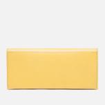 Женский кошелек Ally Capellino Evie Long Zip Leather Yellow/Grey фото- 0