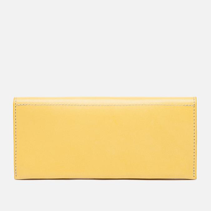 Женский кошелек Ally Capellino Evie Long Zip Leather Yellow/Grey