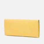 Женский кошелек Ally Capellino Evie Long Zip Leather Yellow/Grey фото- 1