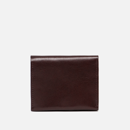 Женский кошелек Ally Capellino Riley Leather Coin Card Purse Dark Red