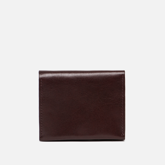 Женский кошелек Ally Capellino Riley Leather Coin Card Purse Dark Red