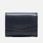 Женский кошелек Maison Kitsune Leather Dark Navy фото- 0