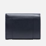 Женский кошелек Maison Kitsune Leather Dark Navy фото- 1